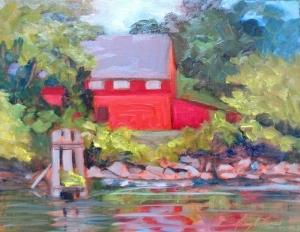 Working-Forum-NancyRThomasCrouse-Mill-Park-Denton-Oil-10X8-500